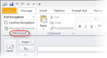 Outlook Encryption